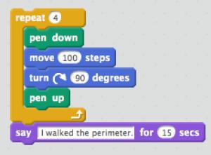 Perimeter code